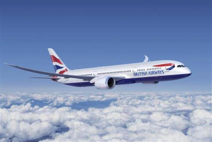 British Airways: uses BBH for advertising and Carat for media