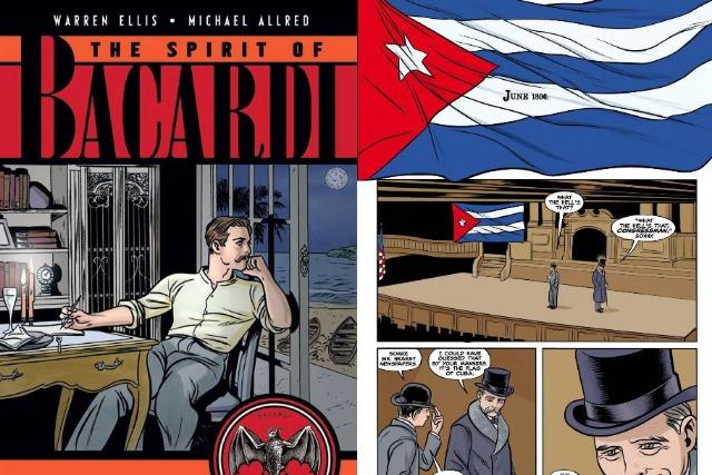 'The Spirit of Bacardi' graphic novel