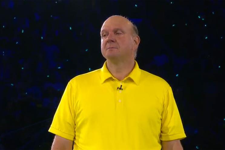 Steve Ballmer's emotional goodbye to Microsoft