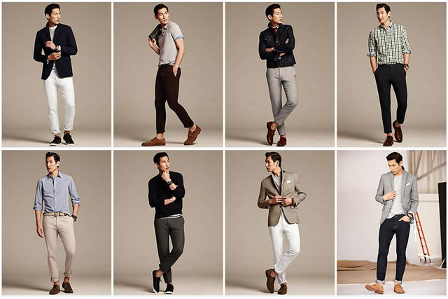 Banana Republic: new range for the quintessential 'startup guy'