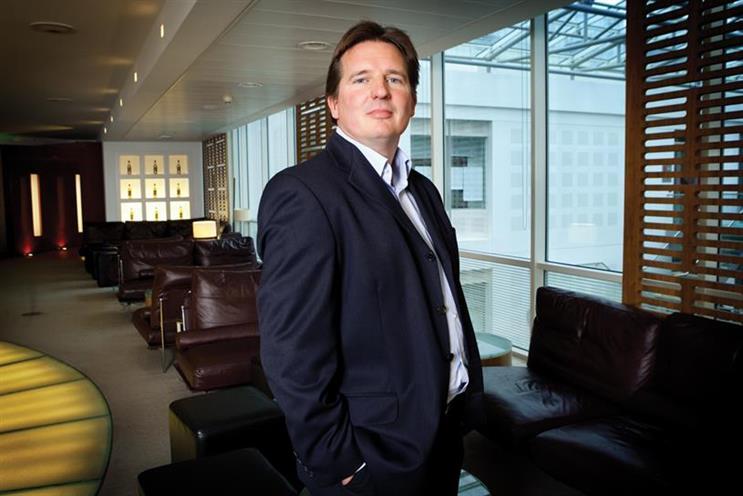 Matt Barwell: the chief marketing officer at Britvic