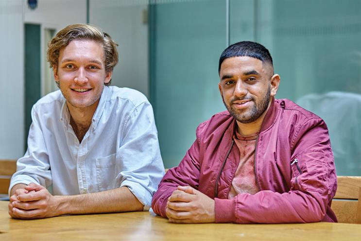 Arvid Härnqvist and Amar Marwaha: join BBC Crreative