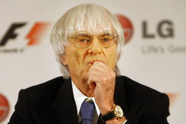 Bernie Ecclestone: the Formula One group chief executive
