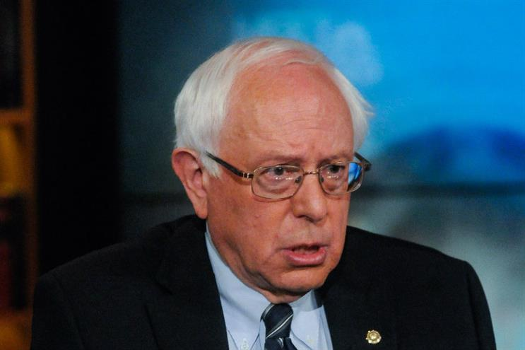 Sanders: maintaining a clear, disciplined message for voters