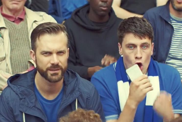 Betfair: set to launch their first above-the-line campaign about football