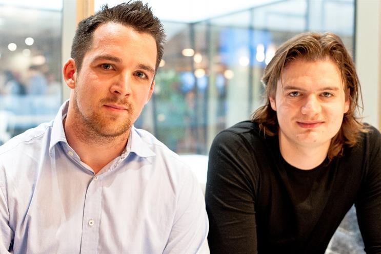 Betgame: founders Doug Ward and David Carter