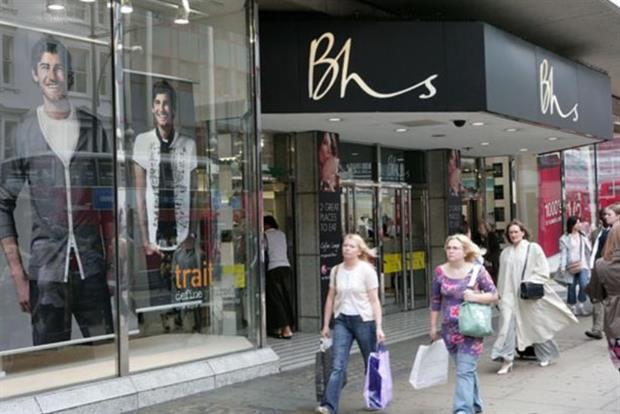 BHS: went into administration in March
