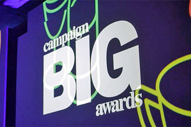 Campaign Big Awards: held at the Grosvenor House Hotel on Wednesday evening