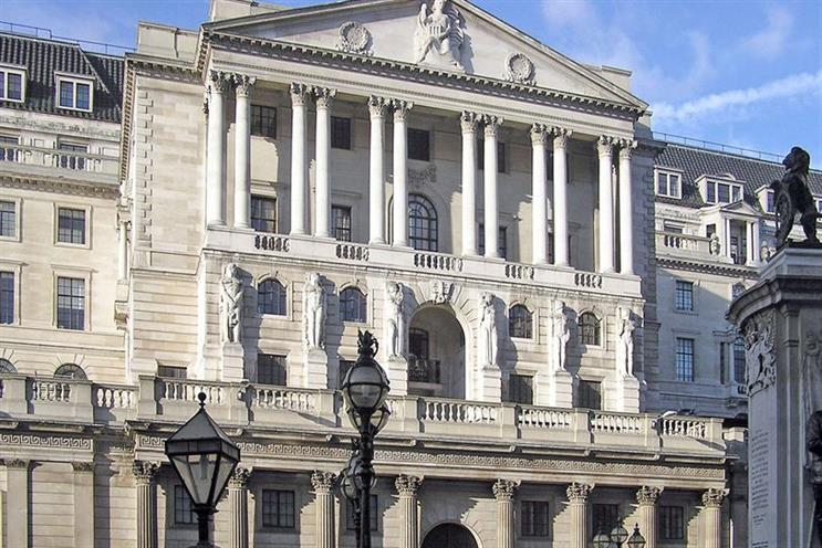 Bank of England: will launch polymer £5 notes this year, with £10 and £20 notes to follow