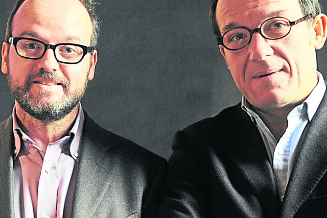 Jérôme and Pierre Doncieux:  the co-chairmen of Relaxnews