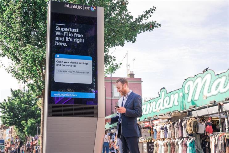 Primesight's internet-enabled InLink screens go live for BT