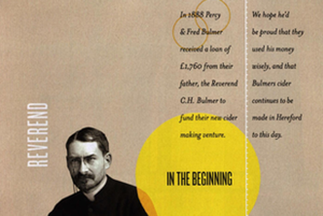 Bulmers: used wrong clergyman in ad