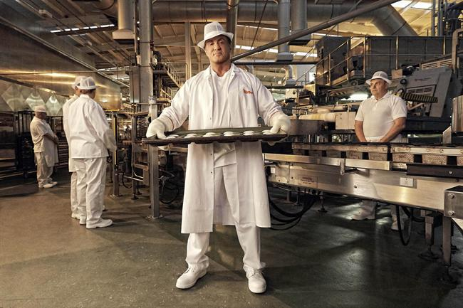 Stallone: starring in Warburtons ad