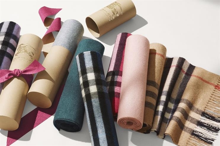 Burberry: pushing its luxury offerings in time for the Chinese New Year