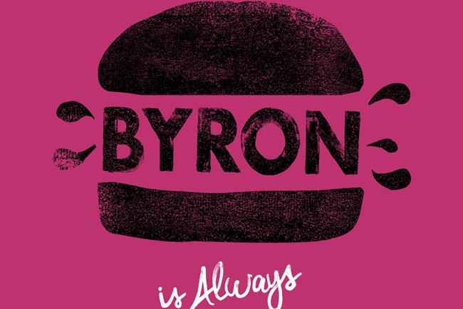 Byron: 'proper hamburgers' campaign