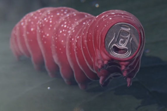 Studio Smack: their film uses surreal imagery to show what a Coca-Cola dream might look like