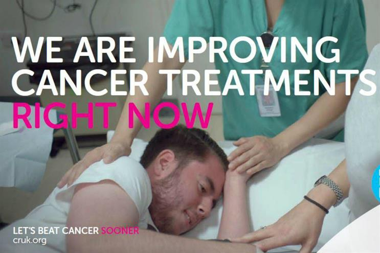 Cancer Research is airing the first ad live from inside the human body