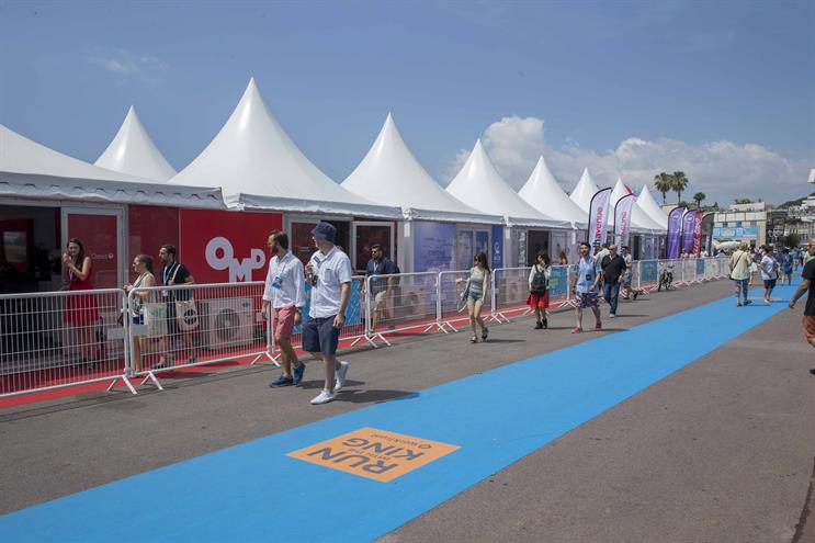 Cannes Lions, the annual festival for the advertising and creative industries