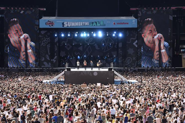Capital Summertime Ball: One Direction performed at last year's event