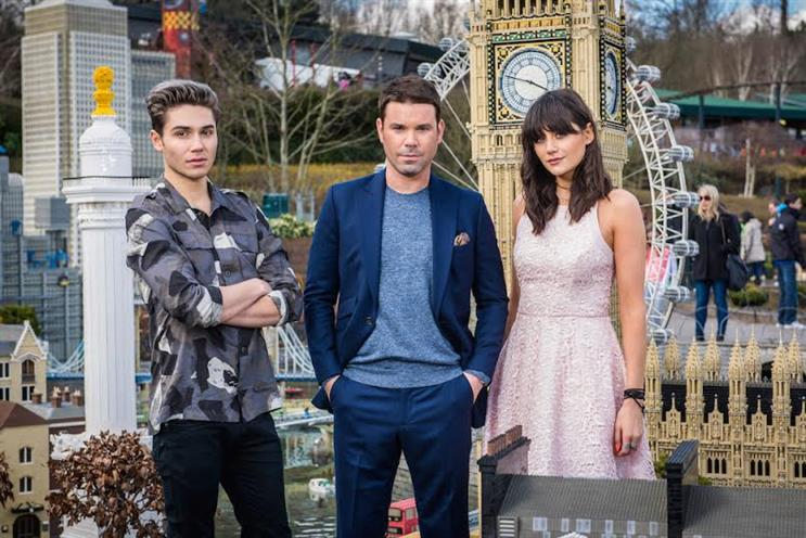 Capital: breakfast show presenters George Shelley, Dave Berry and Lilah Parsons