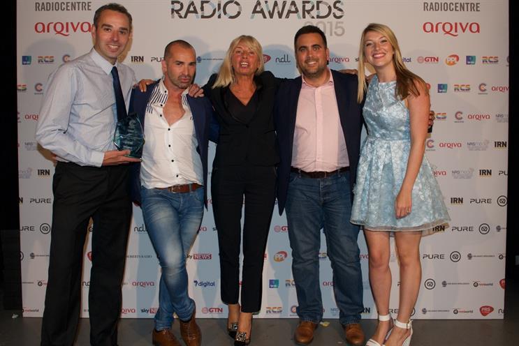 Carat: wins Arqiva Awards Agency of the Year