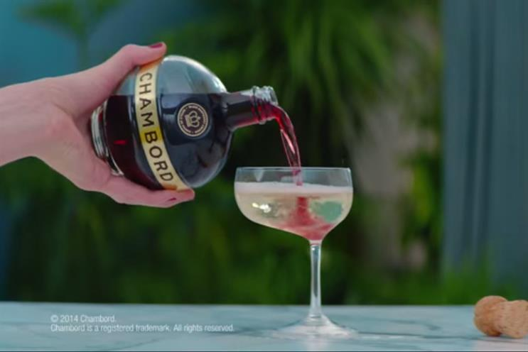 Chambord: appoints Aesop to handle below-the-line activity