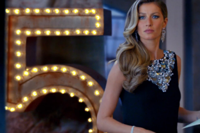 Chanel: 2014 ad for No 5 starred Gisele Bündchen