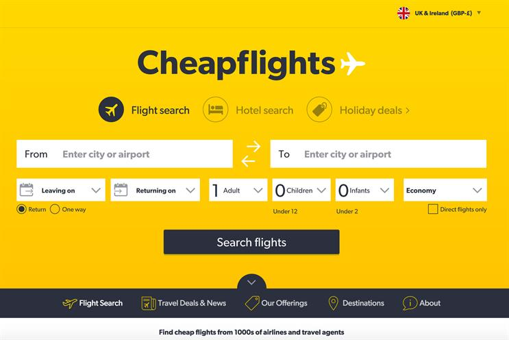 Cheapflights: appoints Forever Beta and Goodstuff