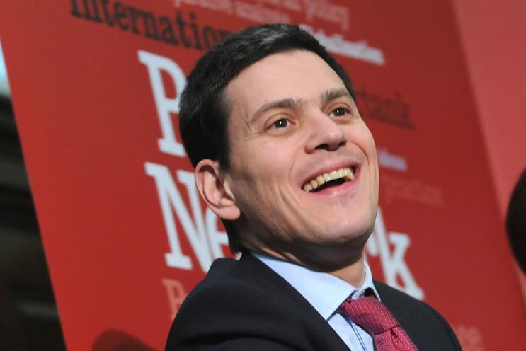 Chief executive: David Miliband