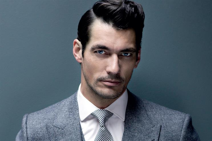 David Gandy: says individuality and authenticity are important attributes