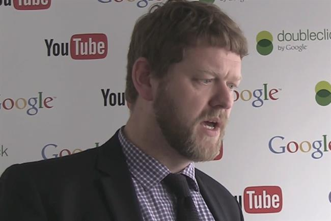 Derek Scobie; head of YouTube propositions for Northern and Central Europe at Google