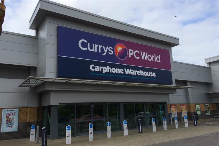 Dixons Carphone: CEO Sebastian James has warned of Amazon's threat to supermarkets