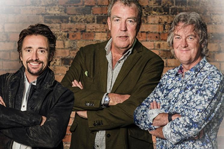 "Amazon: signed a ""landmark"" deal with the former presenter's of BBC's Top Gear"