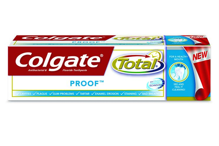 Colgate Total Proof has been launched
