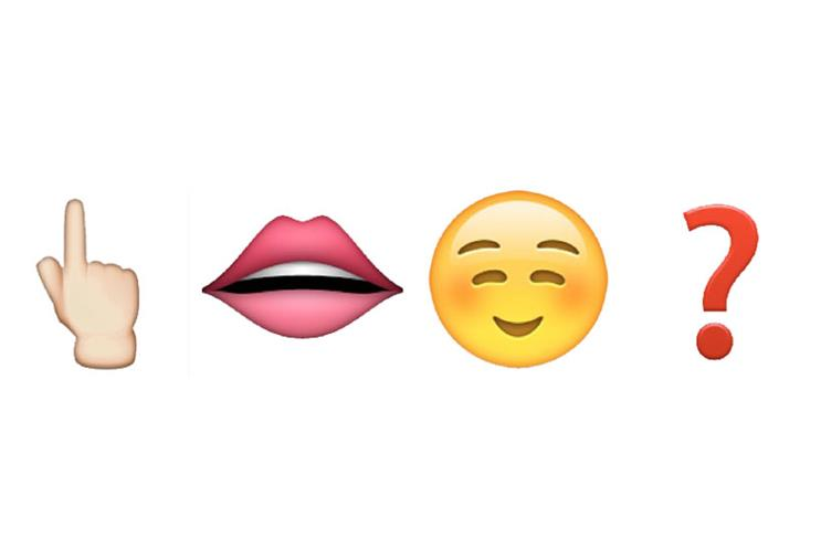 The above means 'Do you speak emoji?'