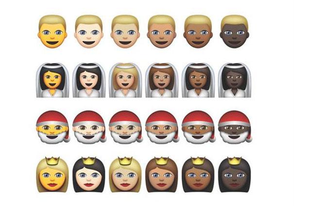 Apple emoji: beta OS X introduces new skin tones
