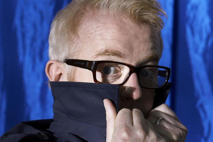 Chris Evans: his BBC Radio 2 show lost 4.4% of listeners
