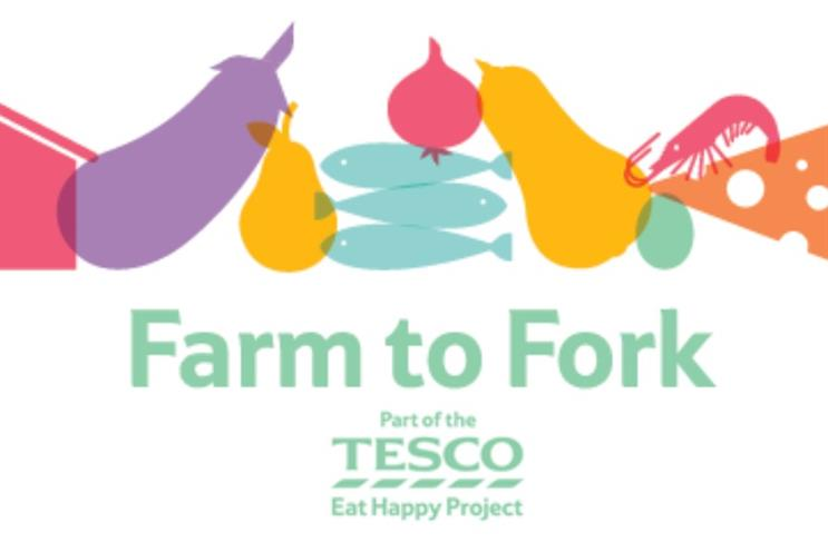Tesco is creating 'acts' with its Farm to Fork project