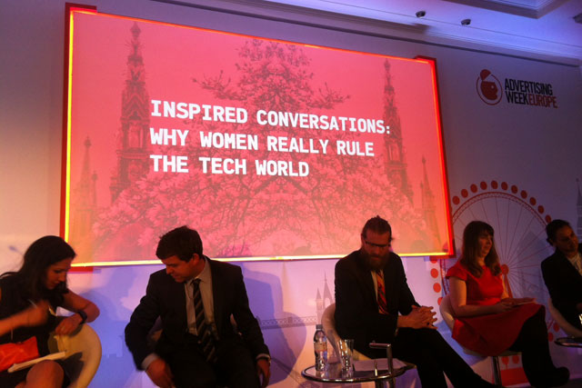 Advertising Week Europe: women and tech under discussion