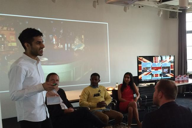 Rajiv Nathwani: the social media manager for BBC One and BBC Two