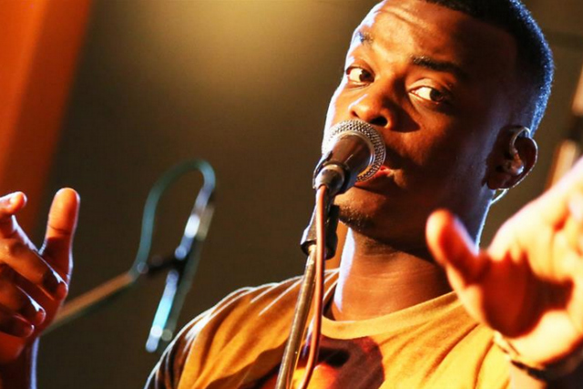 George the Poet: performs at the Critics' Choice Sessions