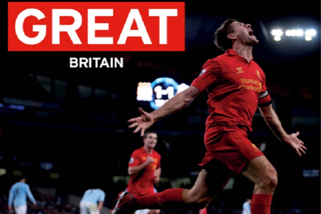 Visit Britain: signs up Steven Gerrard in Premier League deal
