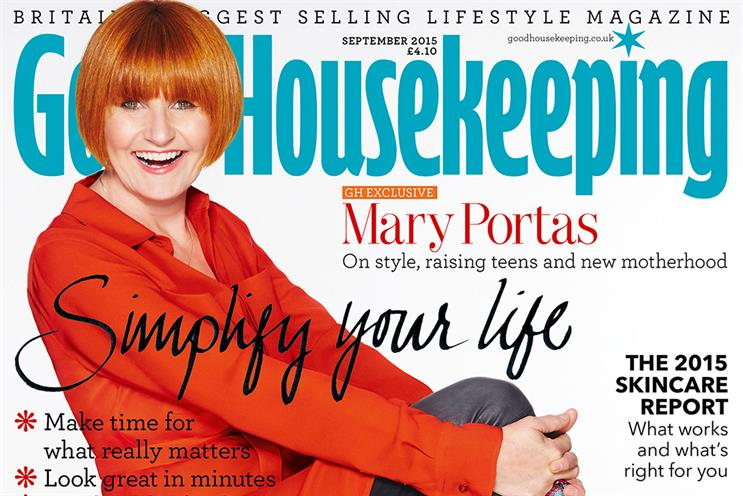 Good Housekeeping: The Hearst title has topped the women's monthly magazines for two years