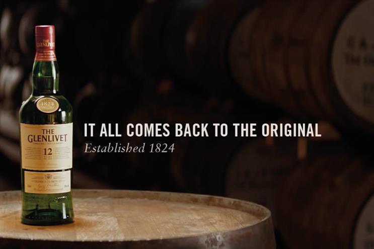 The Glenlivet: Pernod Ricard's singlemalt Scotch whisky brand