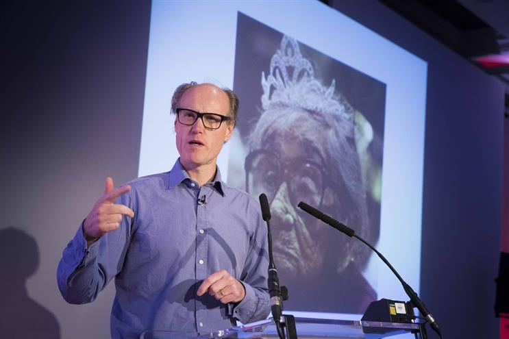 Will Gompertz: on stage at Media360