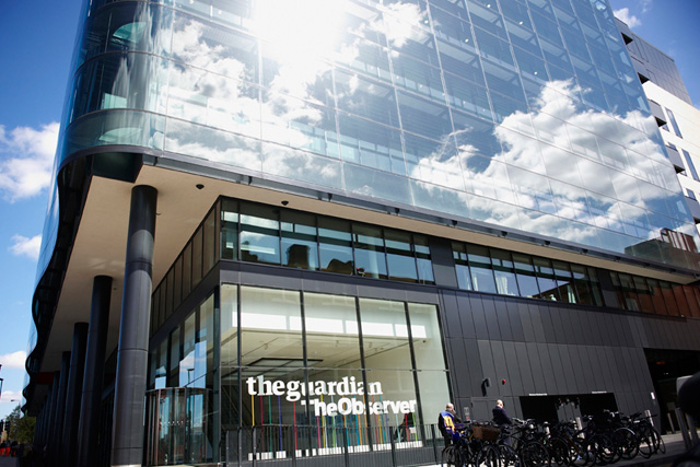 Guardian's digital revenues hit £80m but losses remain around £30m