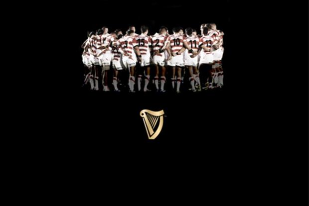 Guinness: ran an ad following Japan's surprising victory over South Africa last weekend