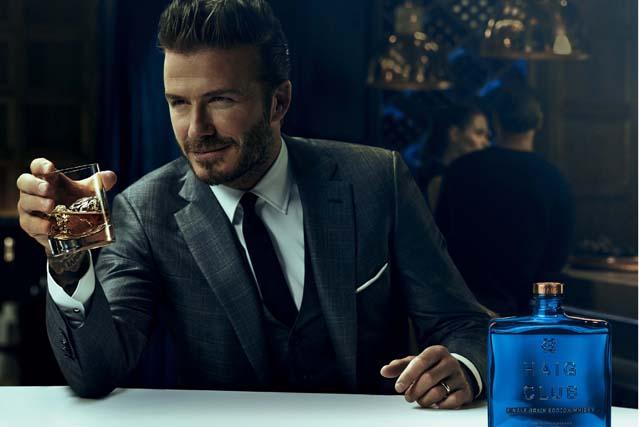 Haig Club: David Beckham helped to create the whisky brand