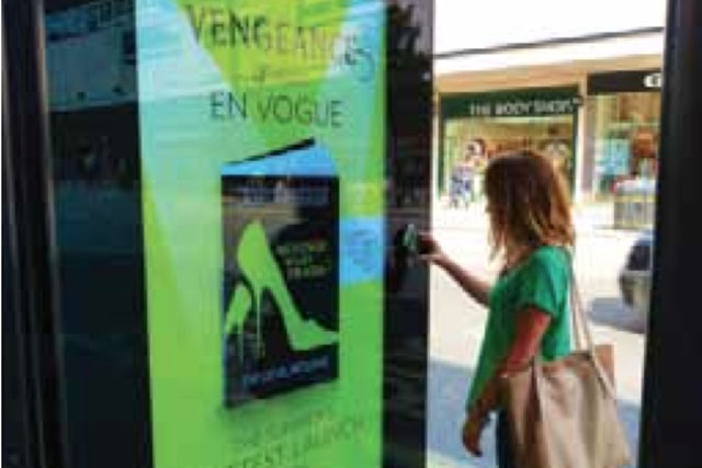 """Outdoor Campaign of the Month: HarperCollins """"Revenge Wears Prada"""""""