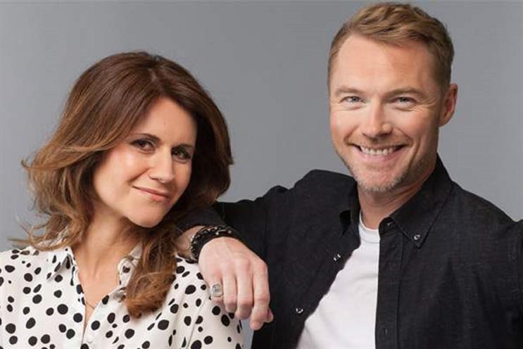 Magic FM: Harriet Scott and Ronan Keating
